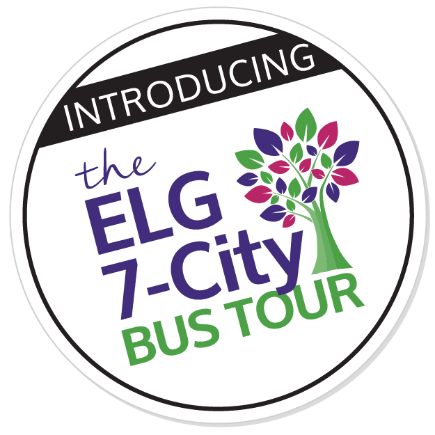 INTRODUCING the ELG 2017 7-City Bus Tour